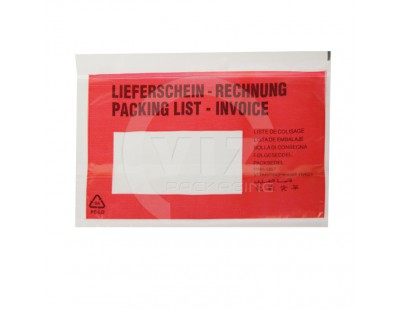 "Packing list ""Multi-language"" C6 165x122mm 1000 pcs"