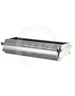 ZAC, wall dispenser, roll width 100 cm, serrated tear bar