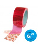 Security tape red Tape