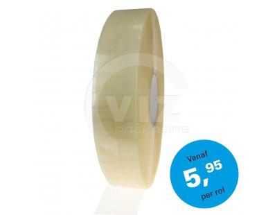 PP hotmelt machinetape 48mm/990m Standard Plus Transparant Tape
