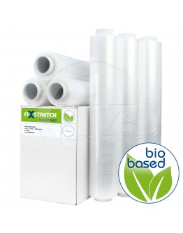 Hand stretch film 12my Fixstretch Biobased Blown