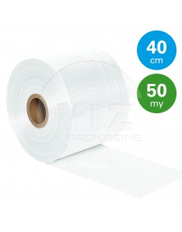 Tube film roll 50µ, 40cm x 680m