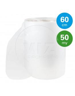 Tube film roll 50µ, 60cm x 450m