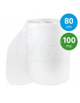 Tube film roll 100µ, 80cm x 160m