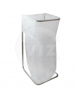 Waste bag holder metal galvanised
