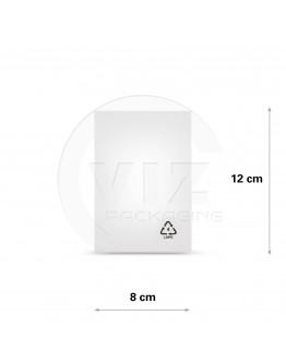 Flat poly bags LDPE, 08x12cm, 50my - 5000x