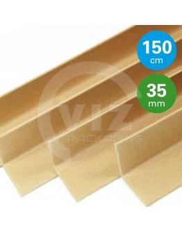 Cardboard corner profiles  ECO, 150cm - 100pcs