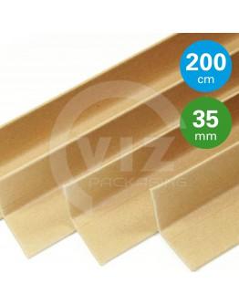 Cardboard corner profiles  ECO, 200cm - 100pcs