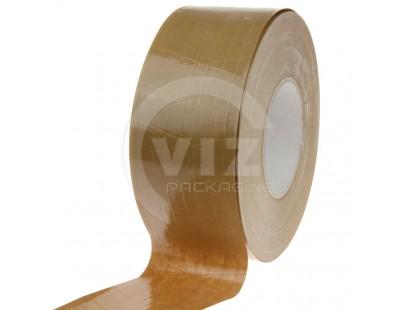 Papertape Gummed 70/150, brown, Cross-reinforced Tape
