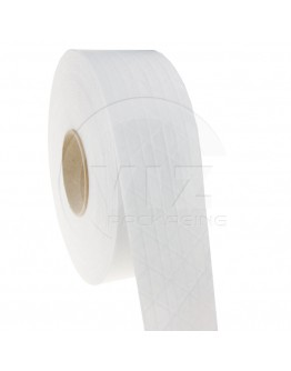 Papertape Gummed 70/150, WHITE, Cross-reinforced