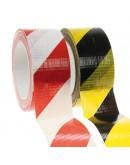 Floor marking tape DUCT yellow/black 50mm/33m Tape