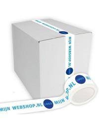 Printed packaging tape